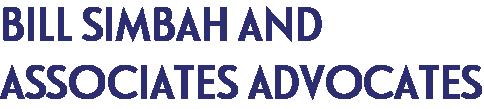 Bill Simbah And Associates Advocates